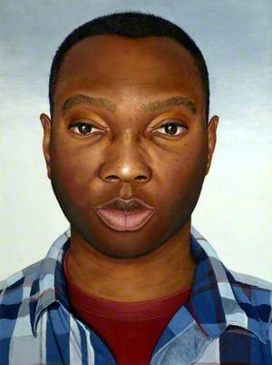 Benjamin Ogbebor (Self Portrait II)