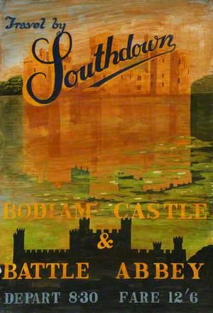 'Bodiam Castle & Battle Abbey'