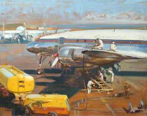 Lockheed Super Constellation of Linea Aeropostal Venezuela