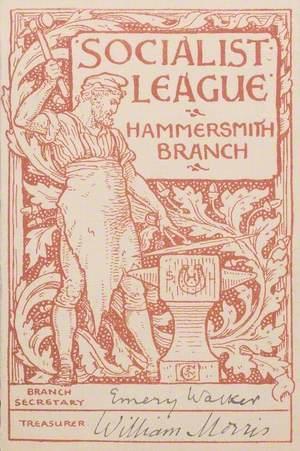 Socialist League Account Booklet