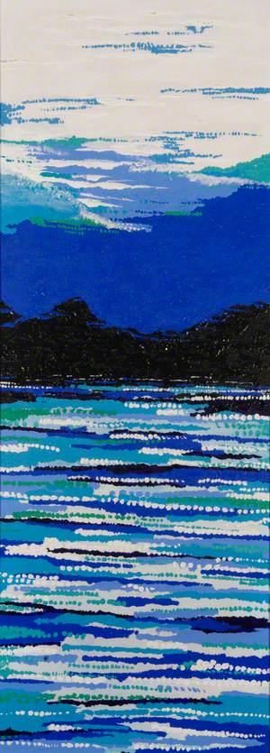 Landscape (Blue)