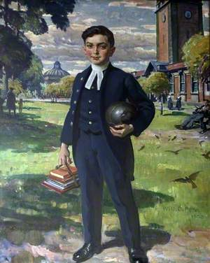 Portrait of a Boy from the Liverpool Blue Coat School