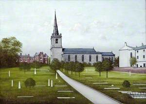 St Mary's Church, Prescot, Lancashire