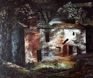 Ruin, Dentdale, Yorkshire