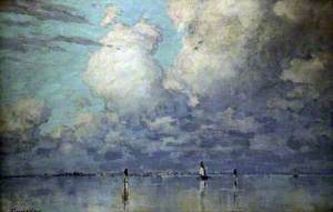Clouds and Lagoons, Venice