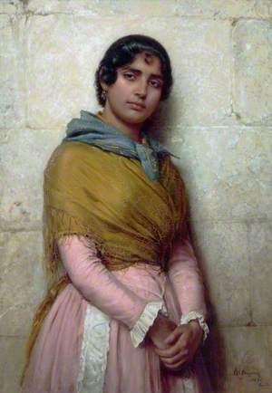 A Gypsy Girl of Seville
