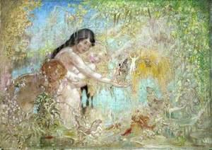 Fairy Woodland Scene
