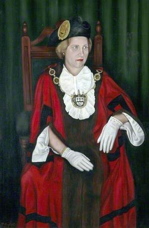 Jean Leech, OBE, Mayor of Southport (1970–1971)