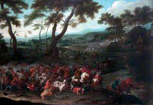Dutch Battle Scene