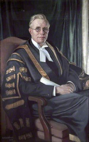 Sir Hector Hetherington (1888–1965), KBE, LLB, Vice-Chancellor of University of Liverpool (1927–1936)
