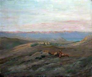 Anathoth, View towards the Dead Sea and the Moab Mountains