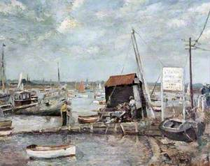 The Hard, Mersea Island, Essex