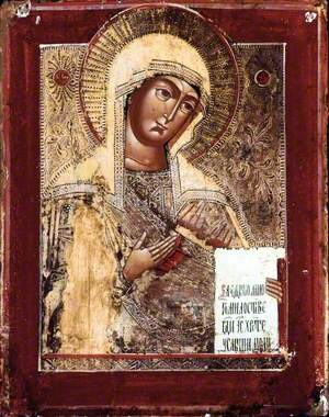 Icon with the Mother of God