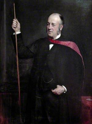Sir William Mitchell Banks (1842–1904), MD, FRCS, Emeritus Professor of Anatomy (1894–1904)