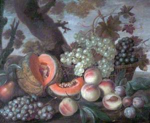 Melons and Grapes