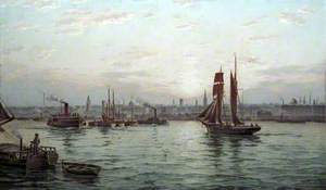 The Port of Liverpool (?)