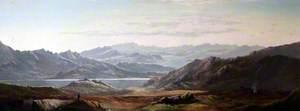 Mountain Scene, Wales (?)
