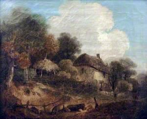 Scene near Winchester, Hampshire