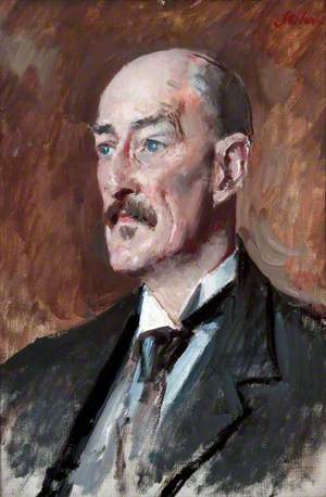 Professor Oliver Elton (1861–1945), Professor of English Literature, University of Liverpool (1900–1925)