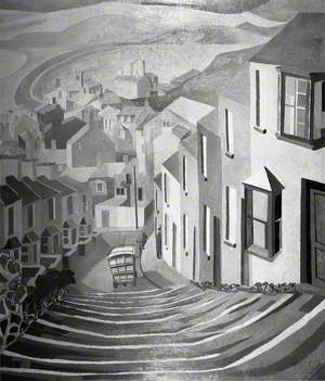 The Steps, Fortuneswell, Dorset, 1953
