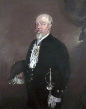 Professor Richard Caton (1842–1926), MD, FRCP, LLD, Pro-Chancellor of the University of Liverpool (1921–1924)