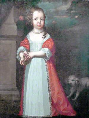 Portrait of a Daughter of the Duke of Monmouth