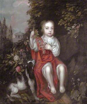 Portrait of a Son of the Duke of Monmouth