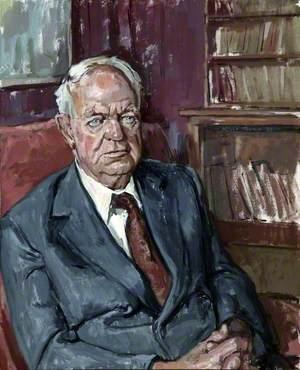 Professor George Lennox Sharman Shackle (1903–1992), Brunner Chair of Ecomonic Science, University of Liverpool (1951–1969)