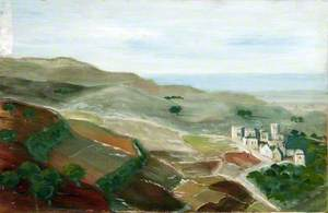Landscape with a Hillside Town near the Sea