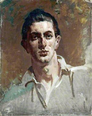 Portrait Study of a Young Man