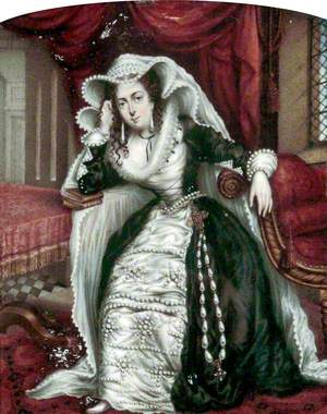 Miss Jarman as Mary, Queen of Scots