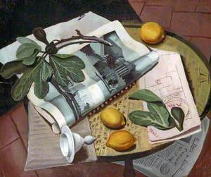 Still Life with Fig Leaves