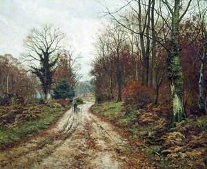 The Autumn Road (Mitcham Woods, Surrey)