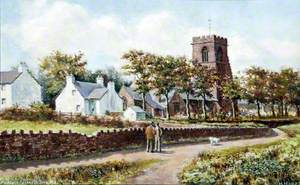 Woodchurch, Wirral, from the North East