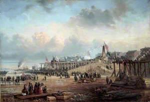 The Opening of Birkenhead Docks, Wirral