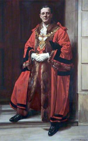 Alderman E. G. Parkinson, JP, Mayor of Wallasey