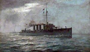 HMS 'Kempenfelt'