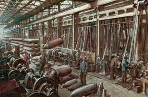 Making Shells, Grimesthorpe Steel and Ordinance Works, South Yorkshire