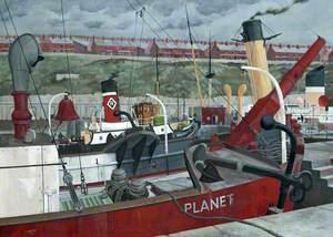 'Planet' at Herculaneum Dock, Liverpool
