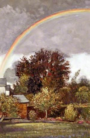 Garden with a Rainbow