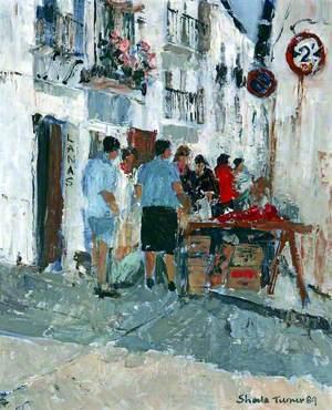 Street Scene, Spain