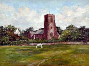 Woodchurch Parish Church, Wirral, 1919