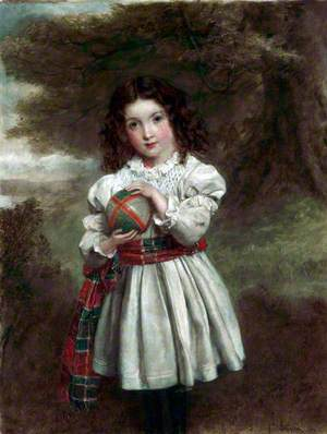 Portrait of a Young Girl (Janet Butters)