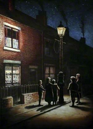 Gas Lamp Rendezvous, 1912