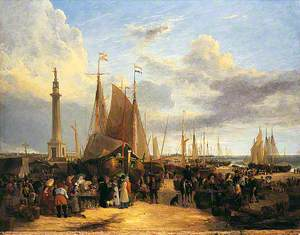 Dutch Fair on Yarmouth Beach, Norfolk