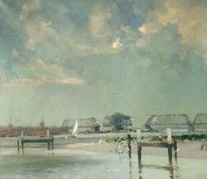 Swing Bridge over Breydon, Norfolk