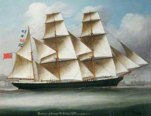 The Barque 'Frederica' of Yarmouth