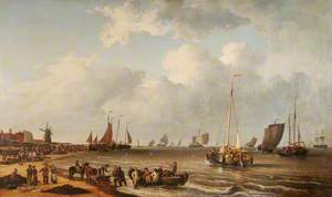 The Mackerel Market on Yarmouth Beach, Norfolk