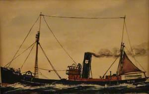 Steam Trawler 'M.110'