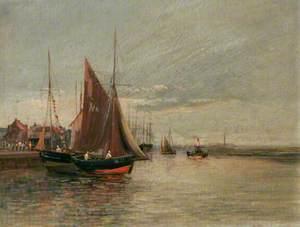 YH '11' Leaving North Quay